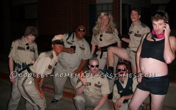 Homemade Group Costume - Reno 911 Sheriff's Department, and Terry