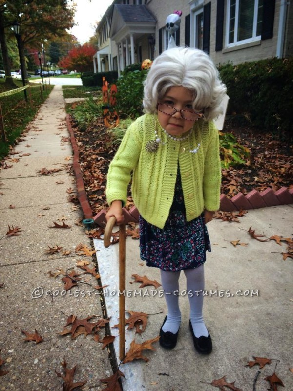 The Old Couple Homemade Child Costume