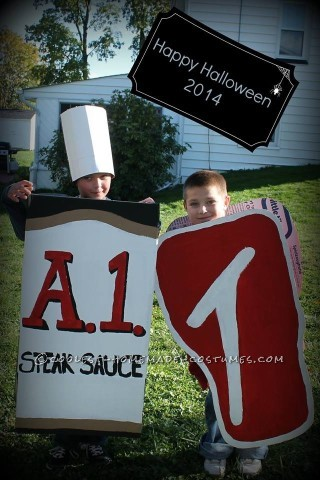 One and Only Steak and Sauce Costumes on the Block