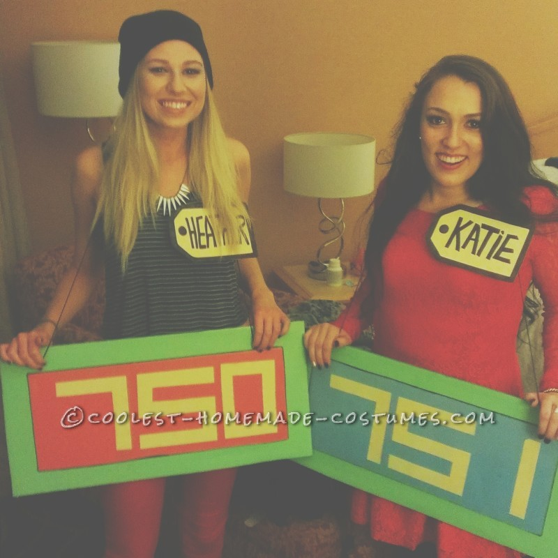 The Price is Right Contestant's Row Couple Costume