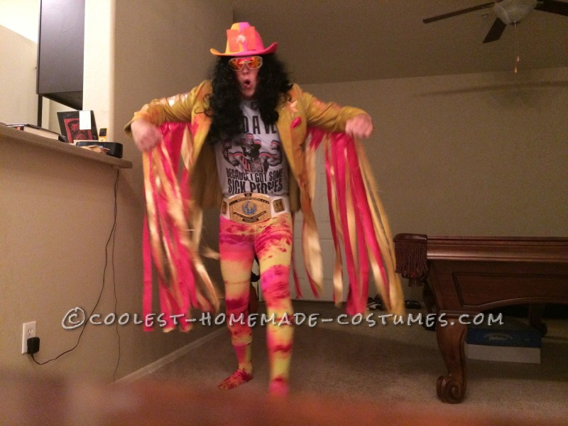 The Raddest Macho Man Randy Savage Costume