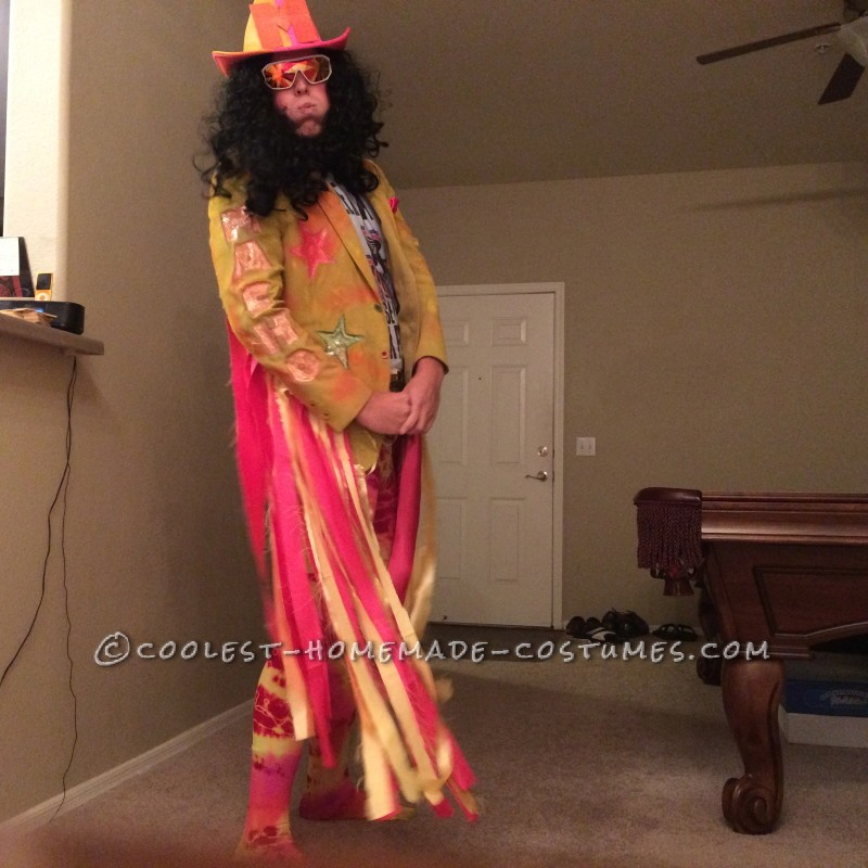 The Raddest Macho Man Randy Savage Costume - 5