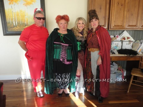 The Sanderson Sisters and the Master Group Costume from Hocus Pocus