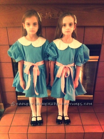 The Shining Twins Couple Costumes