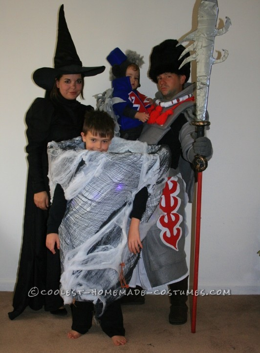 The Wicked Crew: The Dark Side of Oz Family Costume