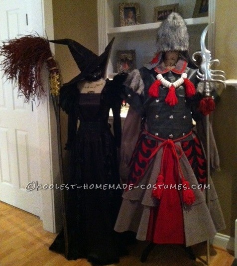 The Wicked Witch of the West and her Winkie Guard Couple Costume - 1