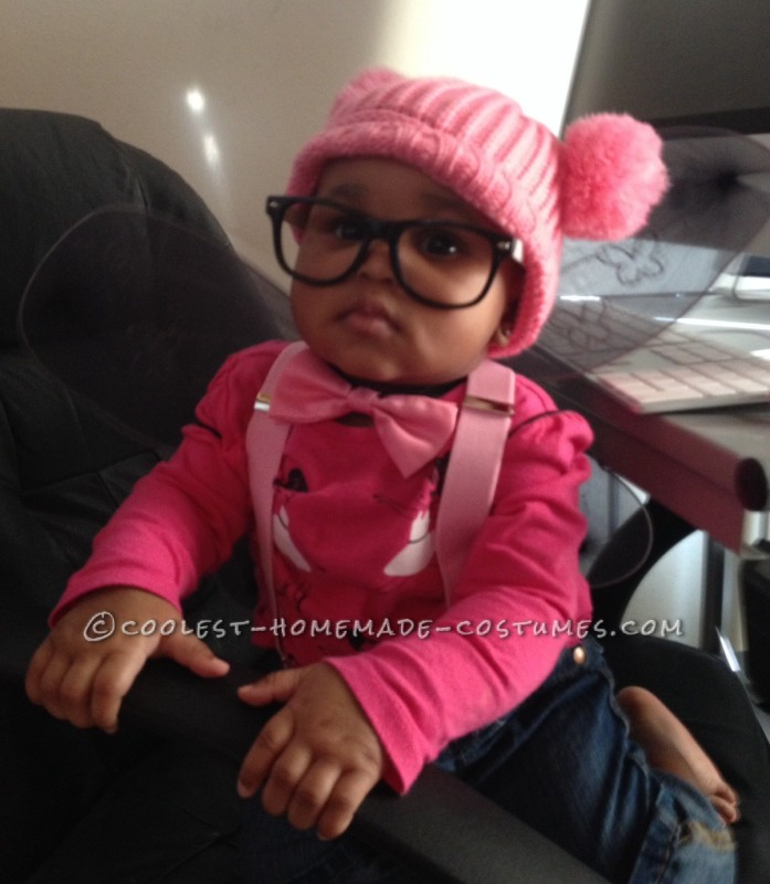 Winged Baby Nerd Costume