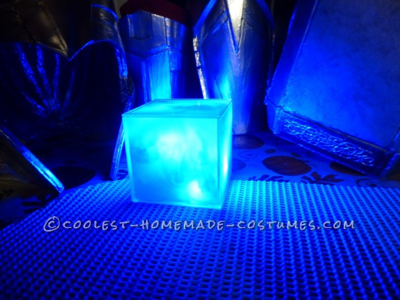 Mjolnir, Thor's Cape, and the Tesseract