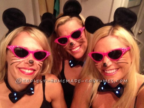 Three Blind Mice All Girls Costume