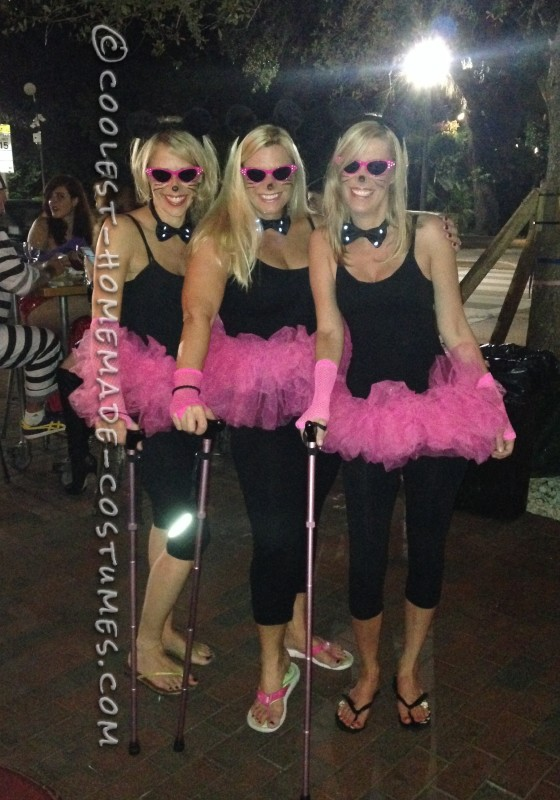 Three Blind Mice All Girls Costume
