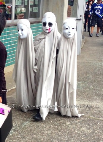 Creepy Ghosts Illusion Costume