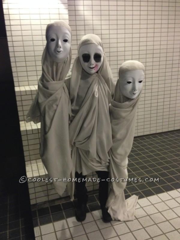 Creepy Ghosts Illusion Costume - 1