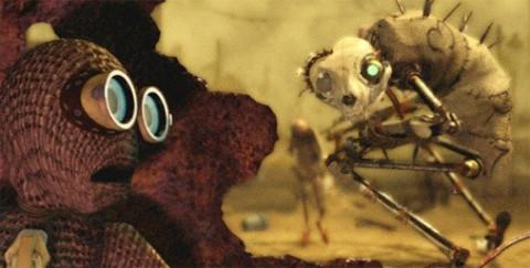 Coolest Homemade Cat Beast Costume from Tim Burton's 9 Movie
