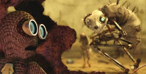 Coolest Homemade Cat Beast Costume from Tim Burton's 9 Movie - 1
