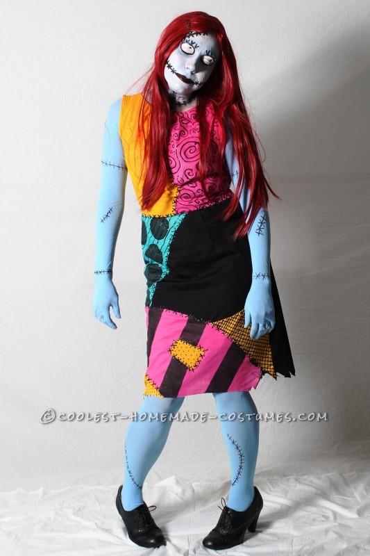 Coolest Tim Burton's Sally Costume