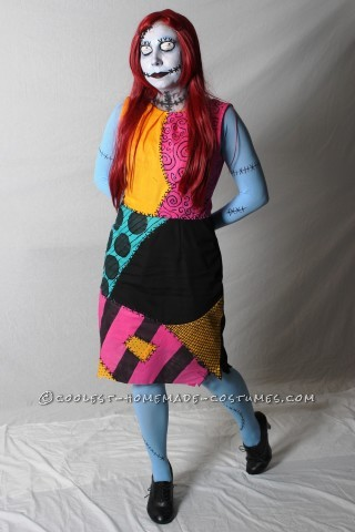 Coolest Tim Burton's Sally Costume