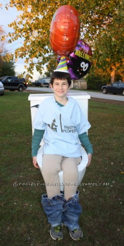 Timmy the Party Pooper Wordplay Toilet Costume