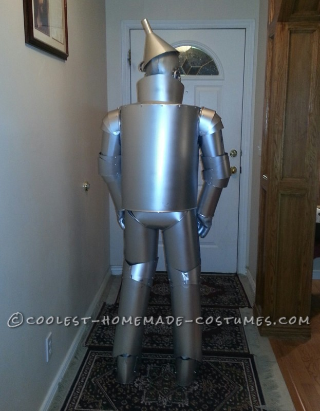 Tin man back