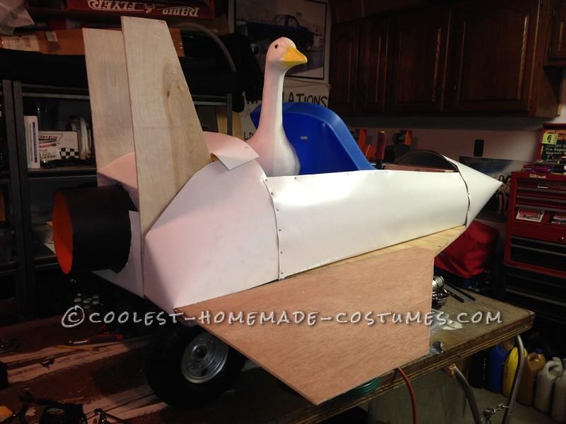 Top Gun Fighter Jet Wagon Costume - 4