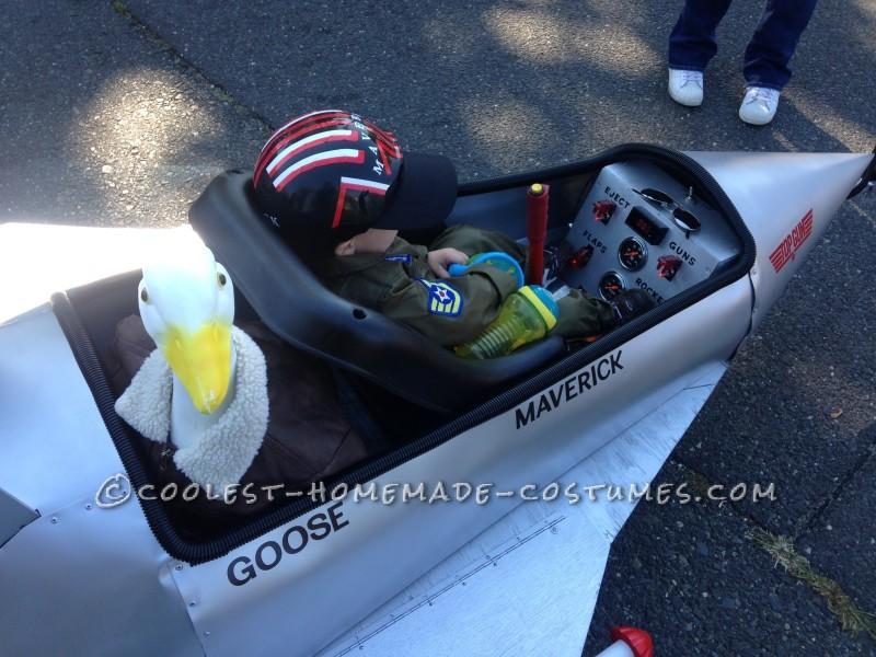 Top Gun Fighter Jet Wagon Costume - 5