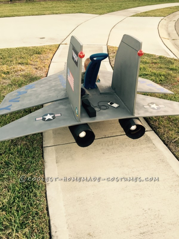 The fighter jet