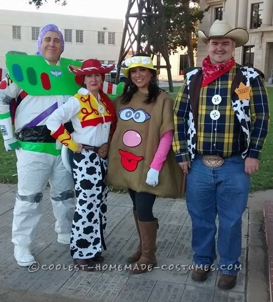 Homemade Toy Story Group Costume (Toy Story Isn't JUST for Kids!)