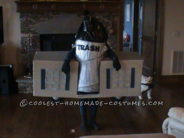 Cool Play on Words Trailer Trash Halloween Costume