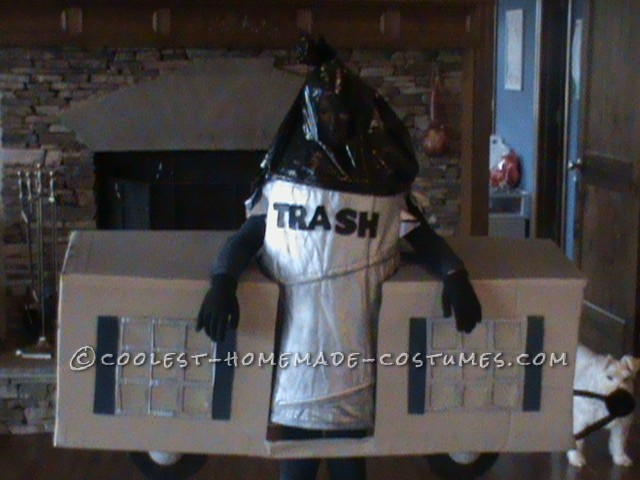Cool Play on Words Trailer Trash Halloween Costume - 1