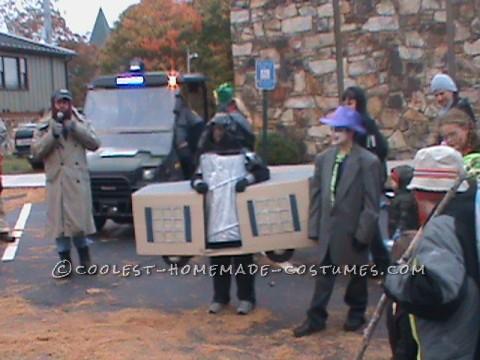 Cool Play on Words Trailer Trash Halloween Costume
