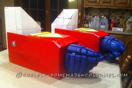 Realistic Transformers Optimus Prime Costume - 1
