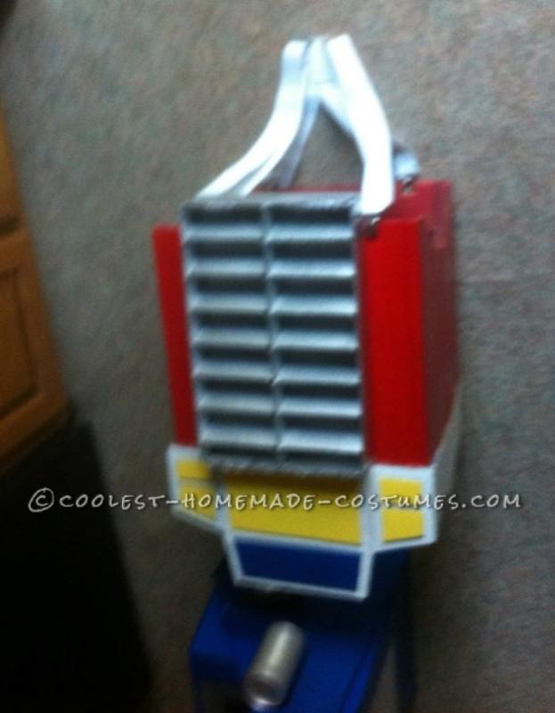 Realistic Transformers Optimus Prime Costume - 2