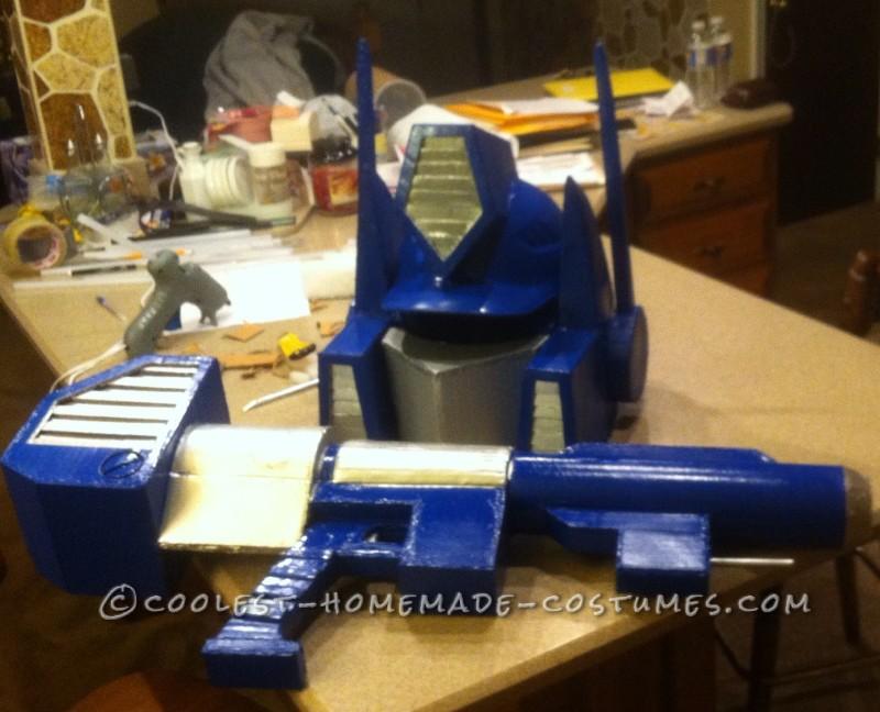 Realistic Transformers Optimus Prime Costume - 5
