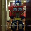 Realistic Transformers Optimus Prime Costume