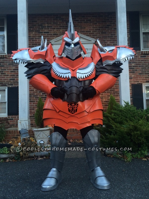 Homemade Dinobot Grimlock Costume – Transformers: Age of Extinction