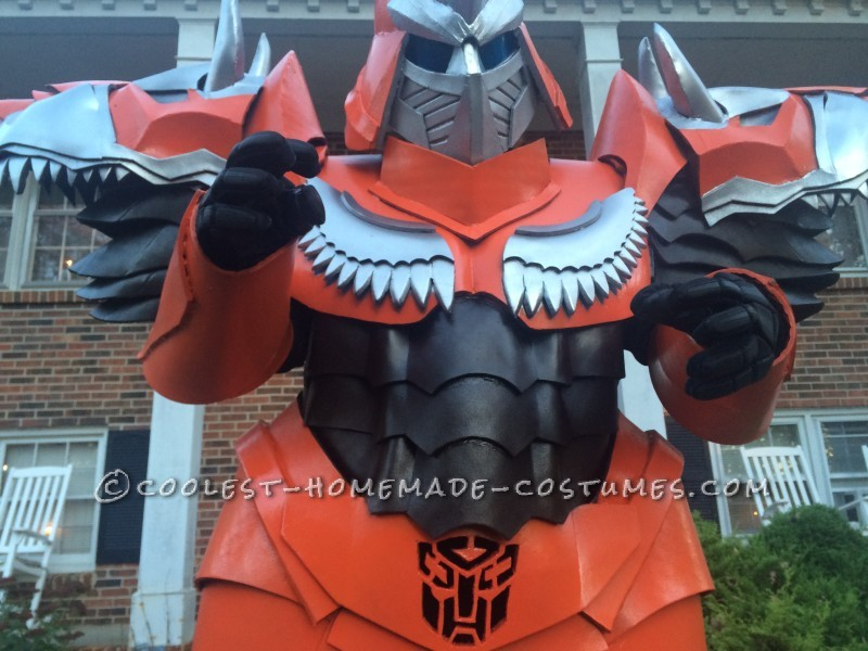 Homemade Dinobot Grimlock Costume – Transformers: Age of Extinction - 3