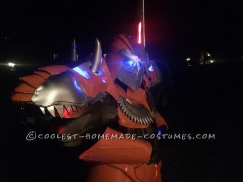 Homemade Dinobot Grimlock Costume - Transformers: Age of Extinction
