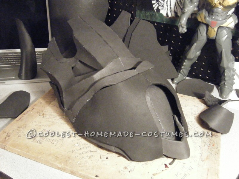Homemade Dinobot Grimlock Costume – Transformers: Age of Extinction - 7