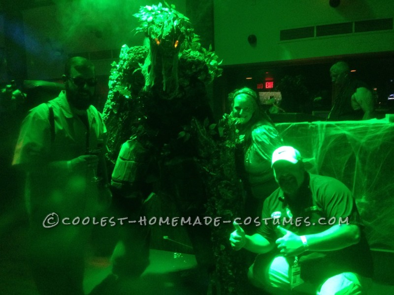 Cool DIY Lord of the Rings Tree Ent (Tree Monster) Costume - 2