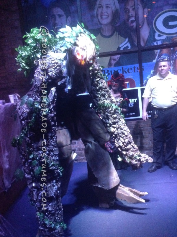 Cool DIY Lord of the Rings Tree Ent (Tree Monster) Costume - 1