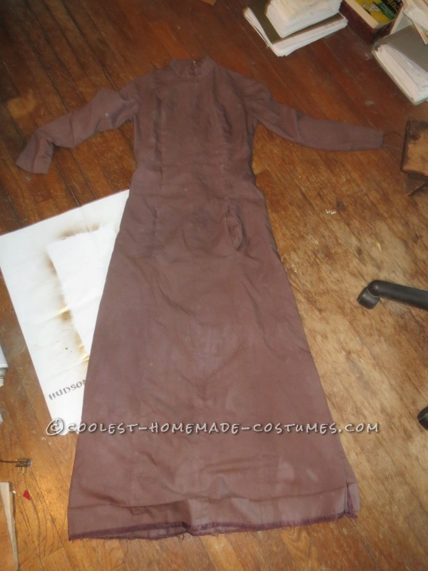 basic dress before restyling