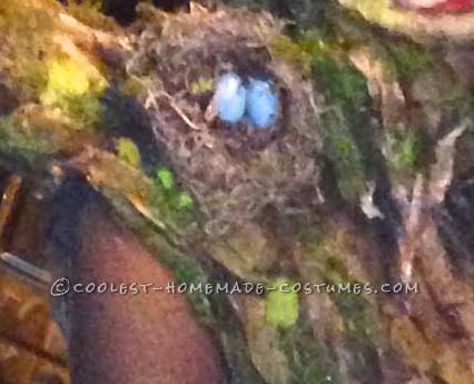 Homemade Artistic Tree Woman Costume - 9