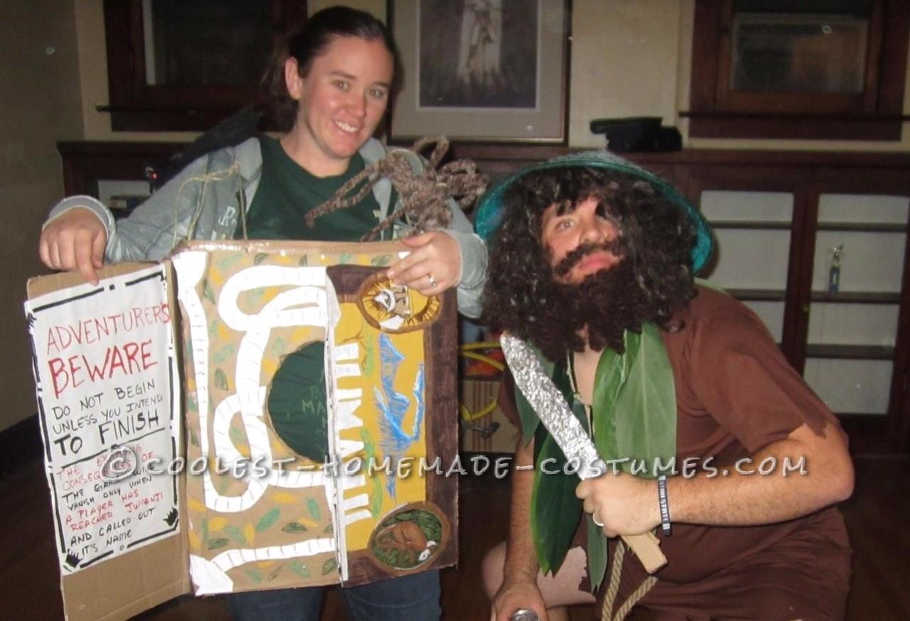 Tribute to Robin Williams Jumanji Costumes