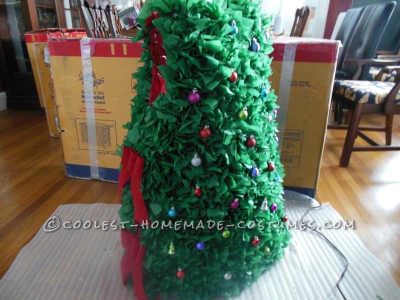 Cool Twinkling Christmas Tree Costume - 1