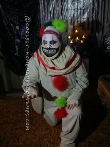 Homemade Twisty the Clown Costume