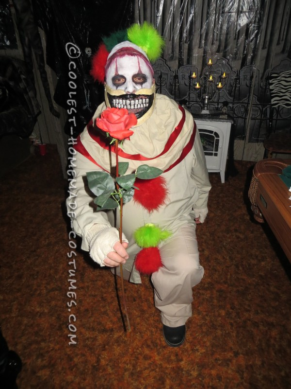 Homemade Twisty the Clown Costume