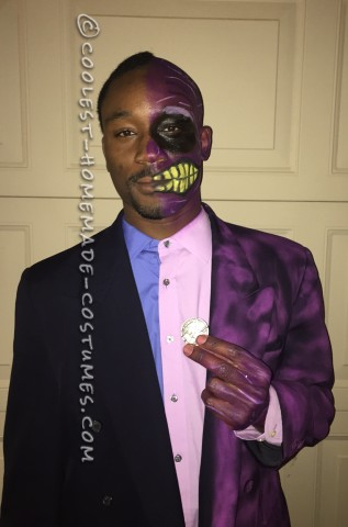 Two Face Costume - Heads you live, Tails you die
