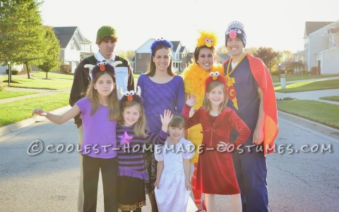 Uber Cute Sesame Street Group Costume