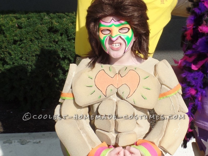 Cool DIY Ultimate Warrior Child Costume - 1