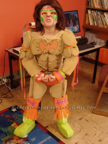 Cool DIY Ultimate Warrior Child Costume