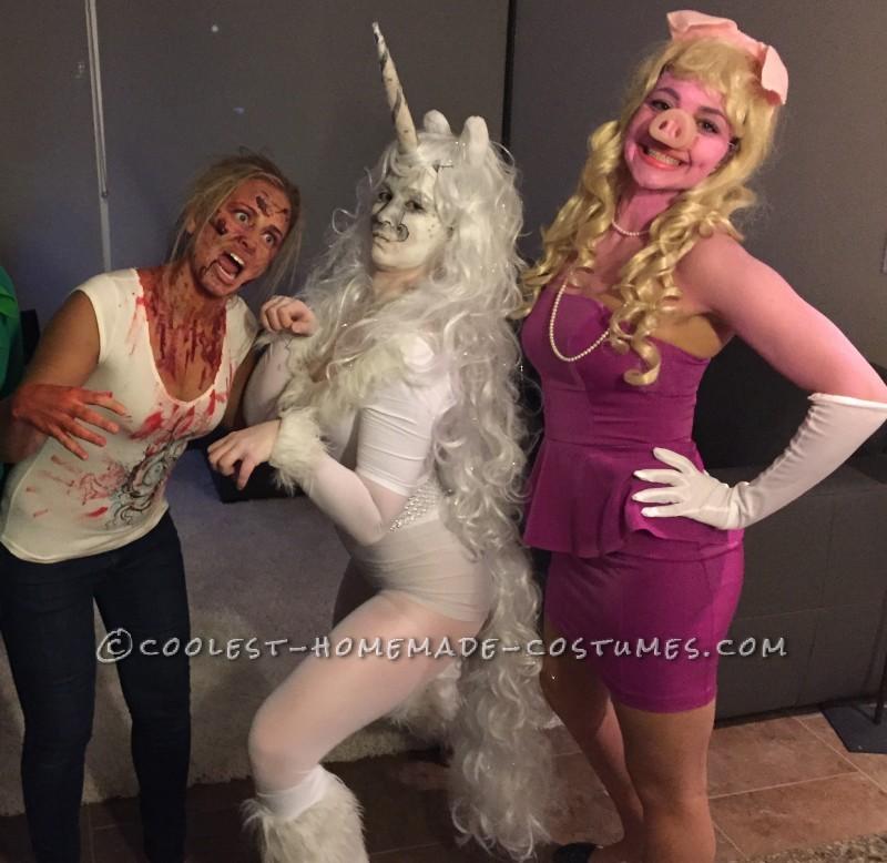 Pretty Unicorn Costume - 1